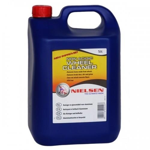 Nielsen NON Acidic Wheel Cleaner 5 L - Aluminiumsrens og Fælgrens