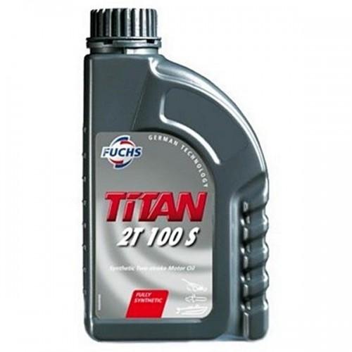 Fuchs Titan 2T 100 S (1 Liter) - Fuldsyntetisk 2 Takt Olie
