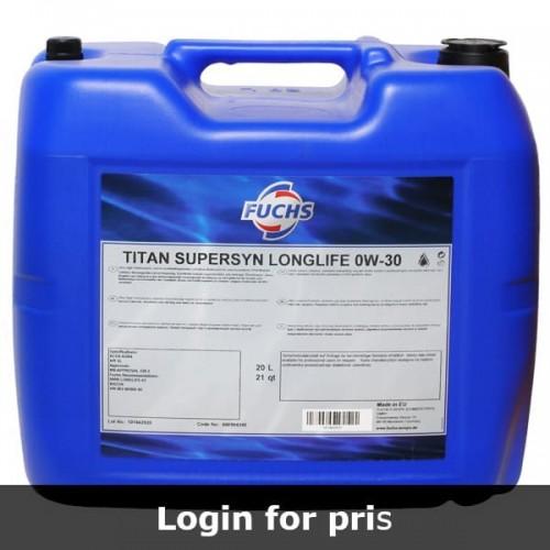 Motorolie Fuchs Titan Supersyn Longlife 0W-30 (20 Liter)