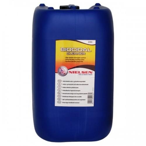 Nielsen Biocidal Cleaner 20 L - Rengøringsmiddel og desinfektionsmiddel til lastbiler
